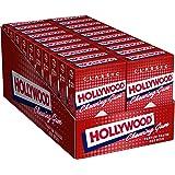 Hollywood Classic - Chewing gum au parfum Fraise - Boîte de 20x11 Tablettes