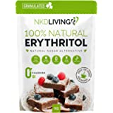 Eritritolo 100% naturale 1 Kg granulato | Sostituto dello zucchero a ZERO Calorie