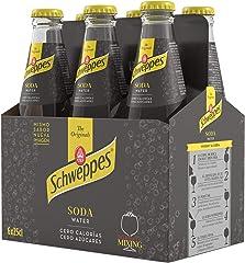 Schweppes Soda Water, 6 x 25cl