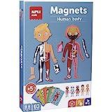 APLI Kids-Sobre el Cuerpo Humano Juego Magnético, Multicolor (18531)