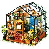 Robotime Poupées en Bois modèle Kits rénovation de Meubles - Kit de Construction Woodcraft Green House Bricolage - Jouets édu