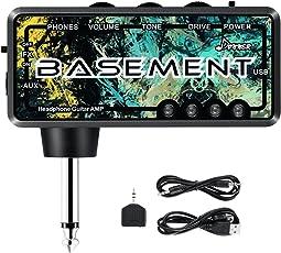 Donner Kopfhörerverstärker Gitarre Bass Basement FX WAH wiederaufladbar Mini Kopfhörer Verstärker Gitarre AMP