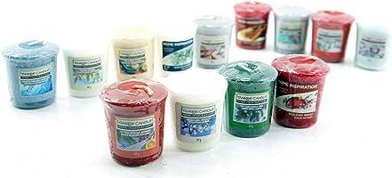 Yankee Home Inspiration Candeline ufficiali, natalizie, varie fragranze, rare, confezione da 13