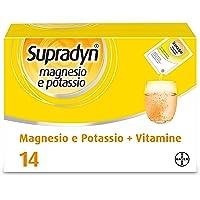 Supradyn Magnesio e Potassio Integratore Alimentare con Vitamine per Stanchezza e Affaticamento, Senza Glutine, Gusto…