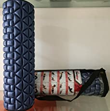 tenstar Fitness Massage Foam Roller for Therapy Yoga/ Gym/ Physio Injury with Cover