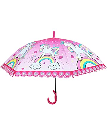 2d316def8 Dhinchak Art Box Special Material Girlish Print Umbrella for Small Girls up  to Age 15 Years