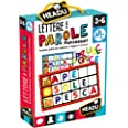 Headu IT20515 Lettere e Parole Montessori Spel, meerkleurig