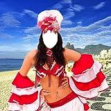 Frau Karneval-Foto-Montage