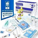 AIESI® kit di reintegro ALLEGATO 1 SENZA SFIGMOMANOMETRO pacco medicazione per cassetta armadietto di pronto soccorso aziende