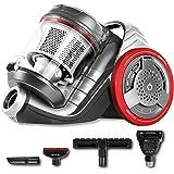 Cecotec Aspirador de Trineo sin Bolsa EcoExtreme 3000. Eficiencia Energética 3AAA, Depósito 3,5 Litros, 4 Accesorios, Filtrad