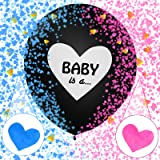 Sunshine smile Gender Reveal Kit,Boy or Girl Party,Baby Shower Balloon,Baby Shower Party,Gender Reveal Party,Boy or Girl Bann