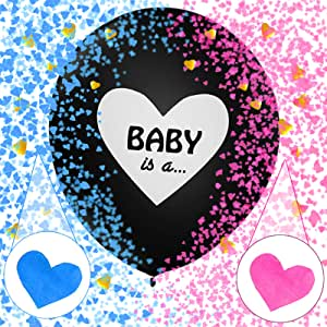 Sunshine smile Gender Reveal Kit,Boy or Girl Party,Baby Shower Balloon,Baby Shower Party,Gender Reveal Party,Boy or Girl Banner