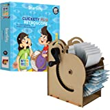 Smartivity Clickety Flix Retroscope STEM STEAM Educational DIY Building Construction Activity Toy Game Kit, Easy Instructions