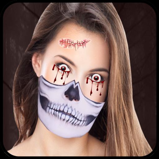 Halloween Photo Editor - Halloween Face Stickers