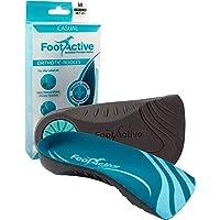 FootActive Casual - Solette di Marca - per Spina calcaneare e Problemi ai Piedi