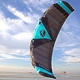 Wolkenstürmer Kite Paraflex Quad 3.9 Blau Lenkmatte