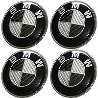 4x Mercedes Benz Alloy Wheel Centre Caps 75 mm insignes Noir Hub Emblème A B C E