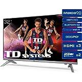 Televisiones Smart TV 32 Pulgadas HD Android 9.0 y HBBTV, 800 PCI Hz, 3X HDMI, 2X USB. DVB-T2/C/S2, Modo Hotel - Televisores
