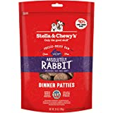 Stella And Chewy's Freeze-Dried Raw Rabbit Dinner Patties for Dogs 25 Ounce