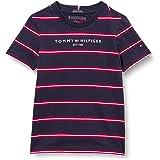 Tommy Hilfiger Essential Stripe tee S/S Camisa para Niños