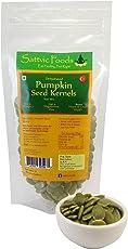 Sattvic Foods Green Pumpkin Seeds, 100g
