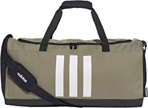 0AFIT|#Adidas 3s Duf M Borsa Sportiva, Unisex – Adulto, legacy green/black/white, NS