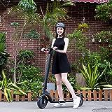 GAOwi Off-road elektrisk skoter, utrustad med kraftfullt batteri, lätt och vikbar, aluminiumlegering skoter, vuxen hopfällbar