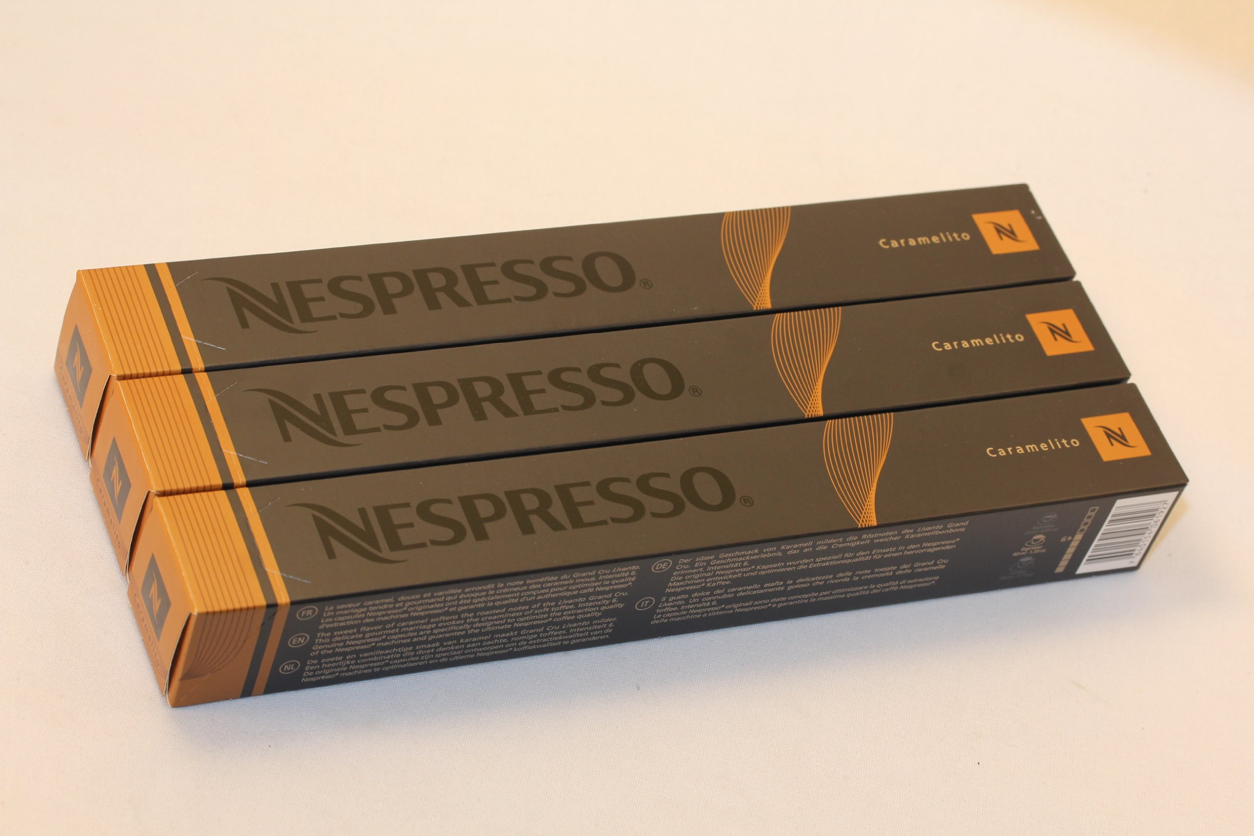 Nespresso Original Variations coffee pods and capsules (a caramel notes, cereal, fruit notes, malty notes coffee with aromas of caramel and roasted, fresh fruit and petals, nutty, spices and tobacco)
