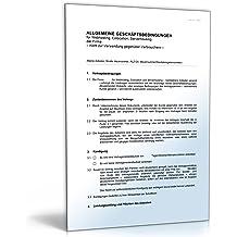 AGB Webhosting [Word Dokument]