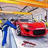 simulatore del meccanico di automobile 2019: fabbrica di fabbricazione dell'automobile sportiva di riparazione automatica del costruttore dell'automobile