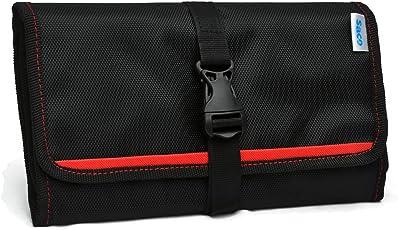 Saco Organizer Bag for Gadgets, (GO3001B, Red)