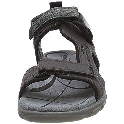 Geox Uomo Sandal Strada A Sandalia con Pulsera para Hombre