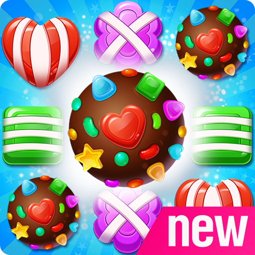 Sugar POP! - Candy Gummy Bear Crush Free Match 3 Puzzle Game