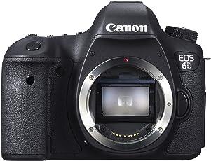 Canon EOS 6D SLR-Digitalkamera (20,2 Megapixel, 7,6 cm (3 Zoll) Display, DIGIC 5+, WLAN und GPS) nur Gehäuse schwarz