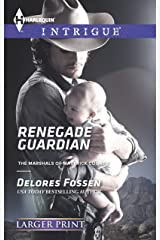 Renegade Guardian (Harlequin Large Print Intrigue) Mass Market Paperback