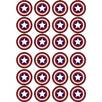 Marvel Superhero Captain America Cake Topper 7 5 inch