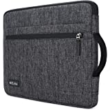 """KIZUNA Notebook Tasche 12,5 Zoll Laptop Hülle Sleeve mit Griff Wasserdicht Schutzhülle Case Bag Etui Für 13"""" MacBook Pro mit Touch Bar/12.9"""" iPad Pro/13.9"""" Huawei MateBook X Pro/Lenovo Yoga 720,Grau"""
