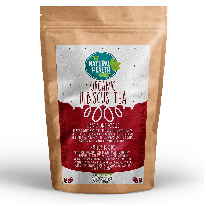 Herbal hibiscus tea 55g dr bean australia - Organic Hibiscus Tea 50 Bags By The Natural Health Market Roselle Tea Bags Produce A Vivid Red Tea 100 Natural Hibiscus Flowers Purple Hibiscus