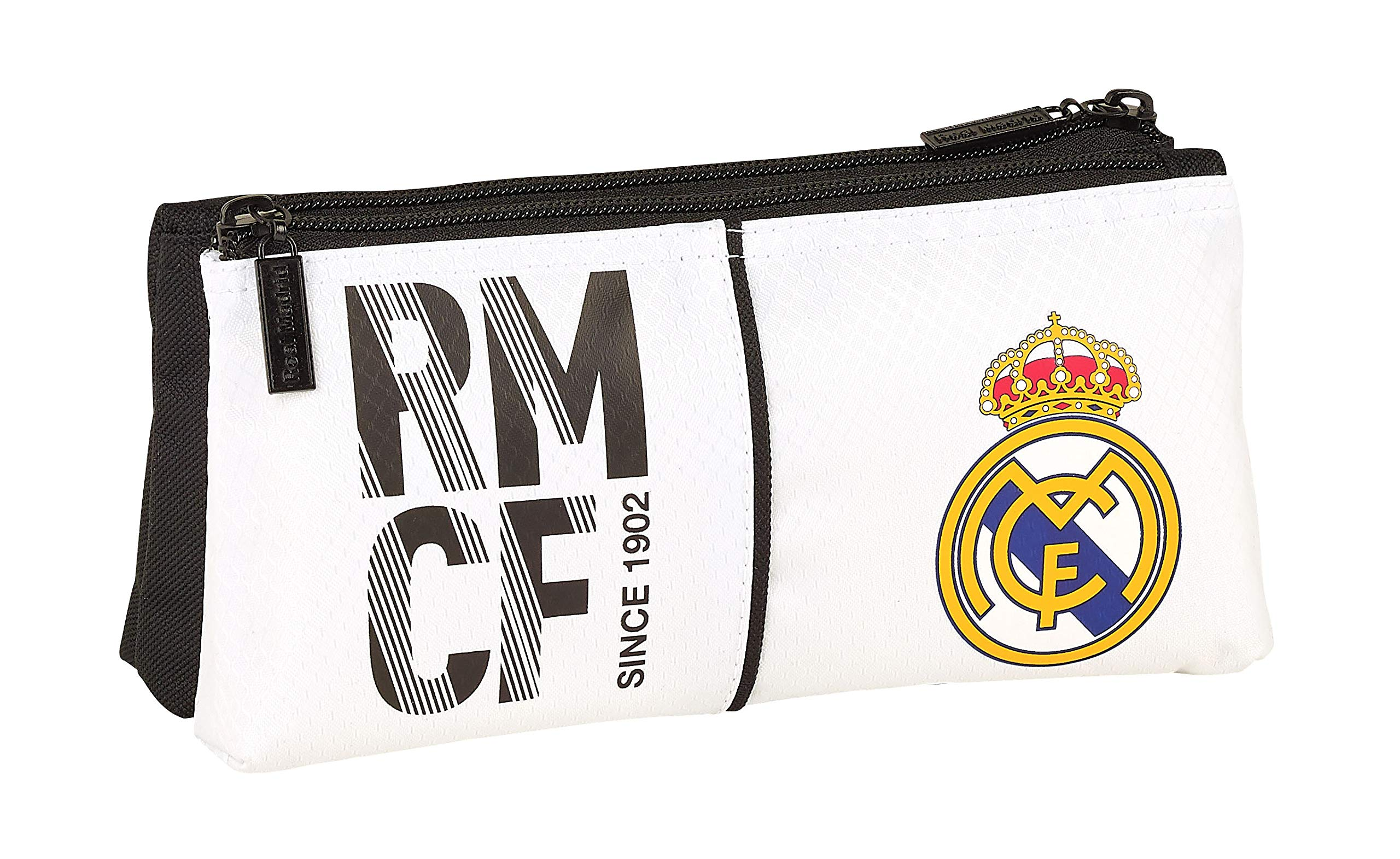 Real Madrid 811854548 2018 Bolsa de Aseo, 22 cm, Blanco
