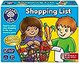 Orchard Toys -  Jeu de Liste de Courses Shopping List - Langue Anglaise - Langue: anglais