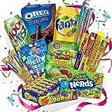 QueenBox® England Süßigkeiten Box   UK Kennenlernbox 12 Teile - Candy Mix inkl. Getränke – Peanut – Chupa Chups & Süssigkeite