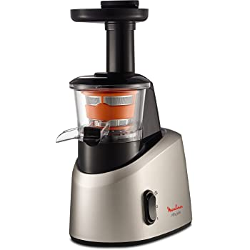 Moulinex ZU255B10 Extracteur de Jus Infiny Juice Pressoir Fruits et Légumes 200W 82 tours/minute