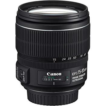 Canon 15-85/3,5-5,6 S IS USM - Objetivo para Canon (distancia focal 15-85mm, estabilizador)