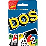 Mattel Games DOS Uno Family Card Game