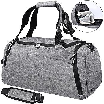 Bolsa Deporte Bolsa Gimnasio de Viaje Impermeable Bolsos Deportivos Fin de  Semana Travel Duffle Bag para 960682ed2befc