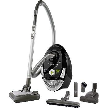 Rowenta Silence Force Compact Eco-intelligence Cylinder vacuum 3.5L 1800W Black - Vacuums (1800 W, Cylinder vacuum, 3.5 L, Black, HEPA, Filtering)