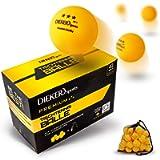 DIEKER SPORTS Premium Palline per tennis da tavolo 3-Star [36 palline - borsa] - con video lezione – palline ping pong…