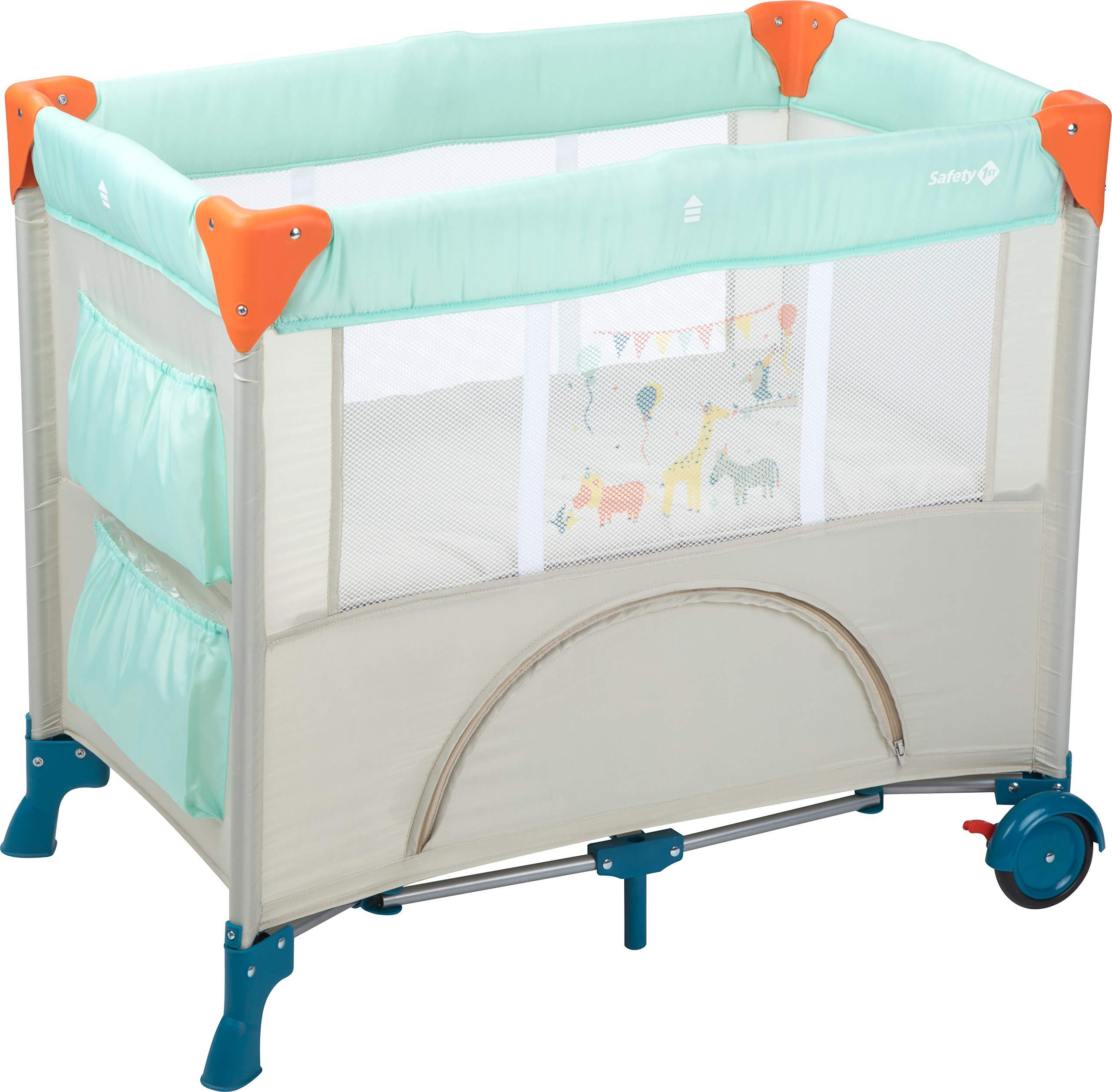 Materassino Da Campeggio Per Bambini.Safety 1st Mini Dreams Culla Da Viaggio Lettino Da Campeggio Per Bambini E Neonati Con Materassino E Vano Portaoggetti