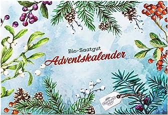 Bio-Saatgut-Adventskalender 2018 - Mediterrane Gemüse, Kräuter & essbare Blüten