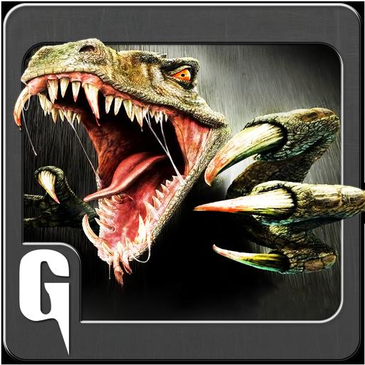 3D Wütend Dino Simulator Spiel